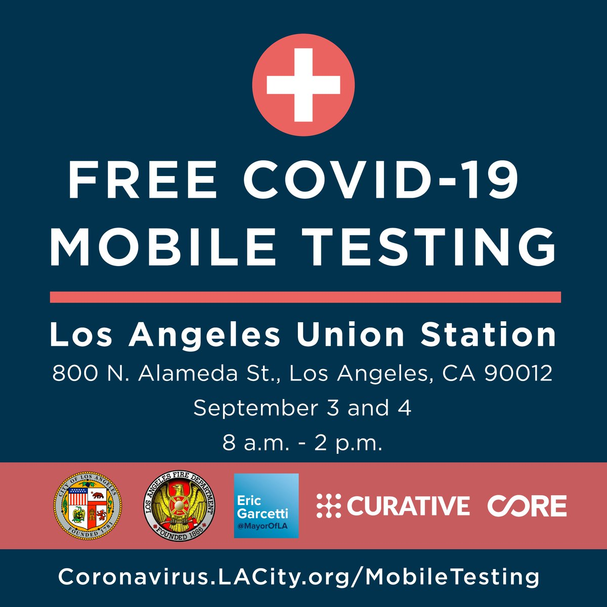 Mayorofla On Twitter We Re Bringing Covid 19 Testing To You No Appointment Needed Visit Https T Co 1tx4eqmgxu For More Upcoming Dates And Locations Https T Co Ppkvmjoec0