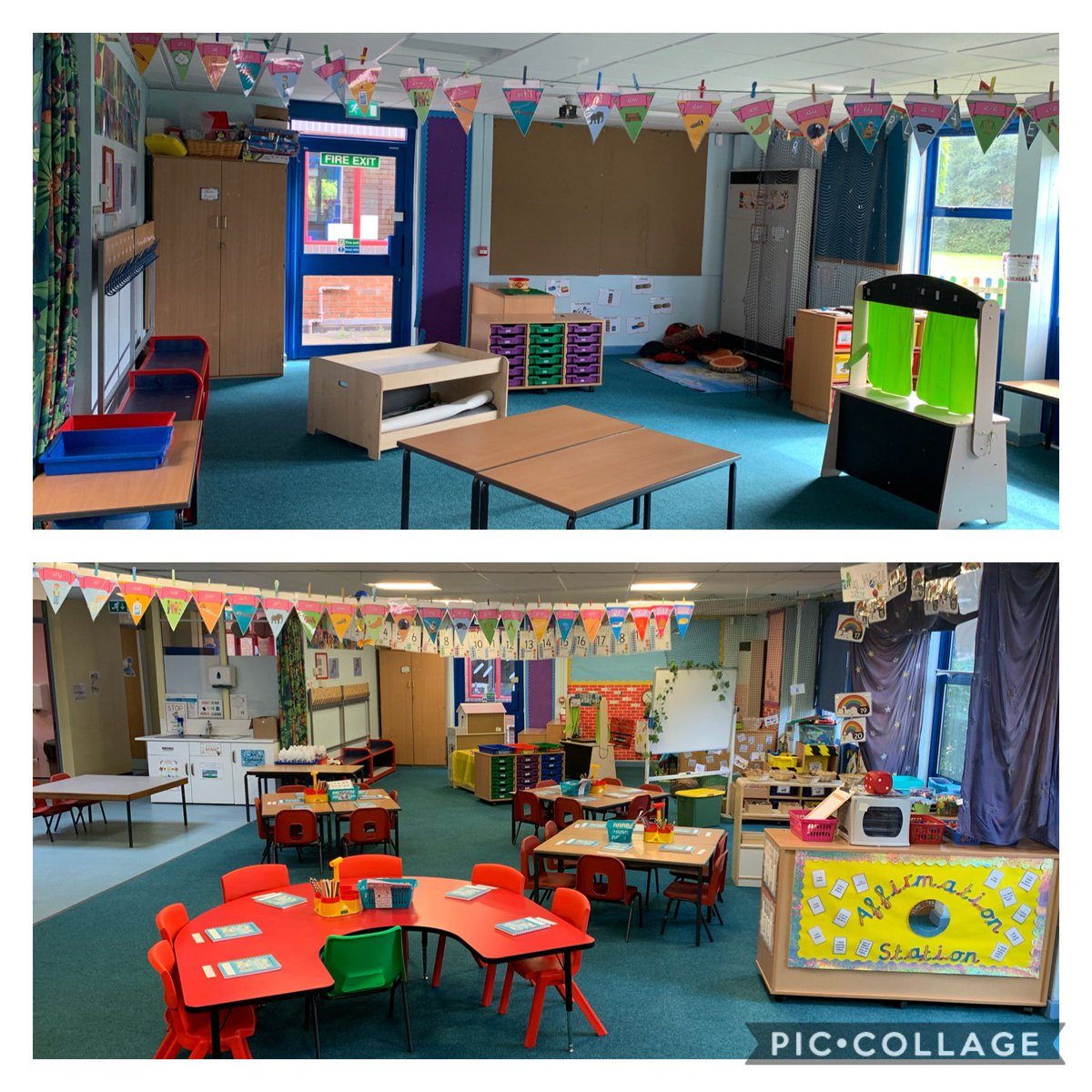 Class 1W is ready for you tomorrow my lovelies🤩🥰