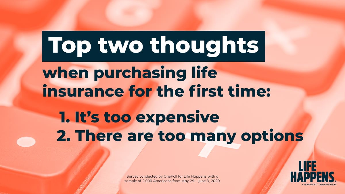 Q5: The top two thoughts when purchasing life insurance for the first time are that it's too expensive and there are too many options. How can we help change those perceptions? #LIAM20Chats #LIAM20 https://t.co/z6VJ0051bI