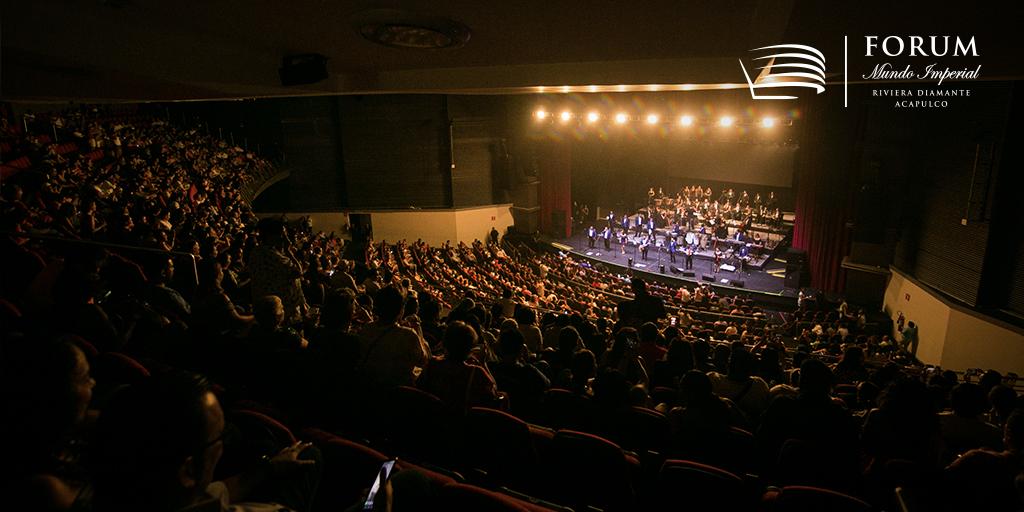 Forum está diseñado para cubrir todas las expectativas de un público conocedor de los mejores espectáculos. #ForumImperial #RivieraDiamanteAcapulco https://t.co/WLrI0dVeya