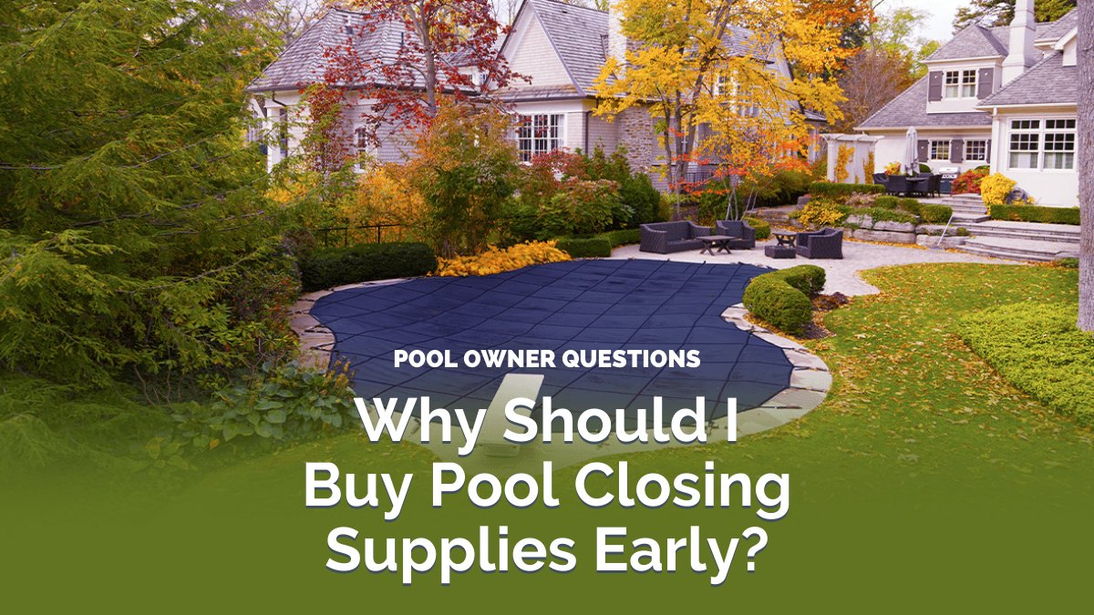 It may still be too warm outside to close up your pools, but due to the incredibly high demand for pools and pool supplies this year, we suggest stocking up on your closing supplies early! 🍁#PoolClosing #PoolSuppliesCanada  📦https://t.co/Q1lUVvsgLw https://t.co/e8SOqyYaLq