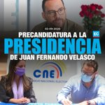 Image for the Tweet beginning: #Elcciones2021   Juan Fernando Velasco