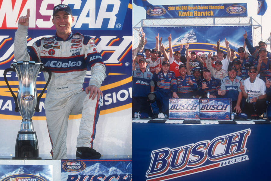 Thanks @BuschBeer for the nod to my 2001 and 2006 Busch Series Championships to start the 2020 #NASCARPlayoffs this weekend at @TooToughToTame. #TBT https://t.co/5hAFMmPB9z