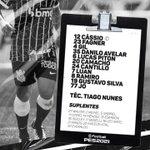 Image for the Tweet beginning: Corinthians escalado com o que