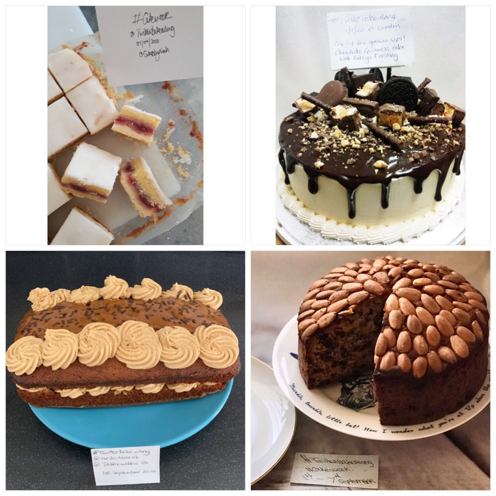 And we're off - our first gallery of Bakes #CakeWeek and more, from our Baking Community. Join in with #TwitterBakeAlong and you could #win a @NordicWareUK Bee Hive cakelet pan. https://t.co/8Debrnp8yE
