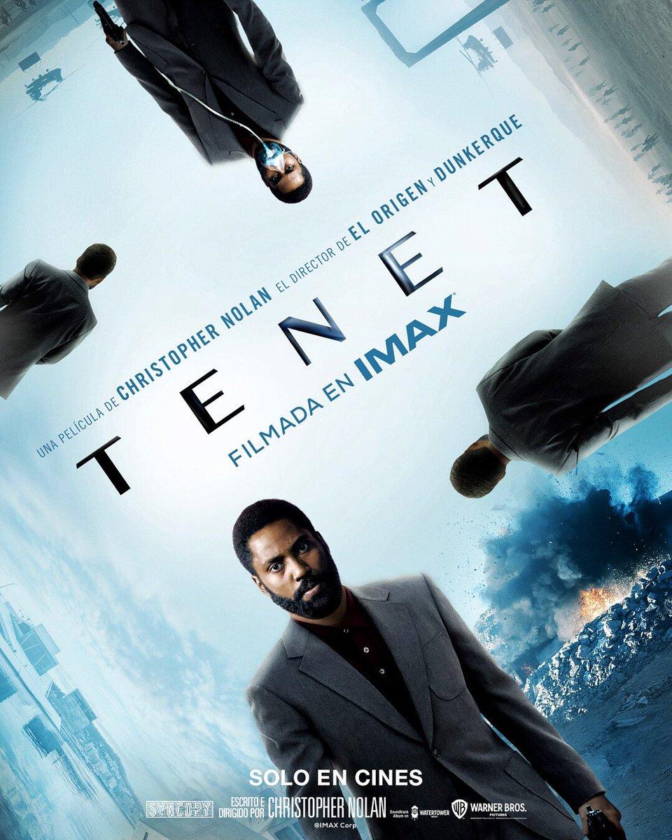 TENET  . . . . . .  Filmada en IMAX, nos va a sorprender 😎  #proximamente #soloencines https://t.co/helUbX1QwE