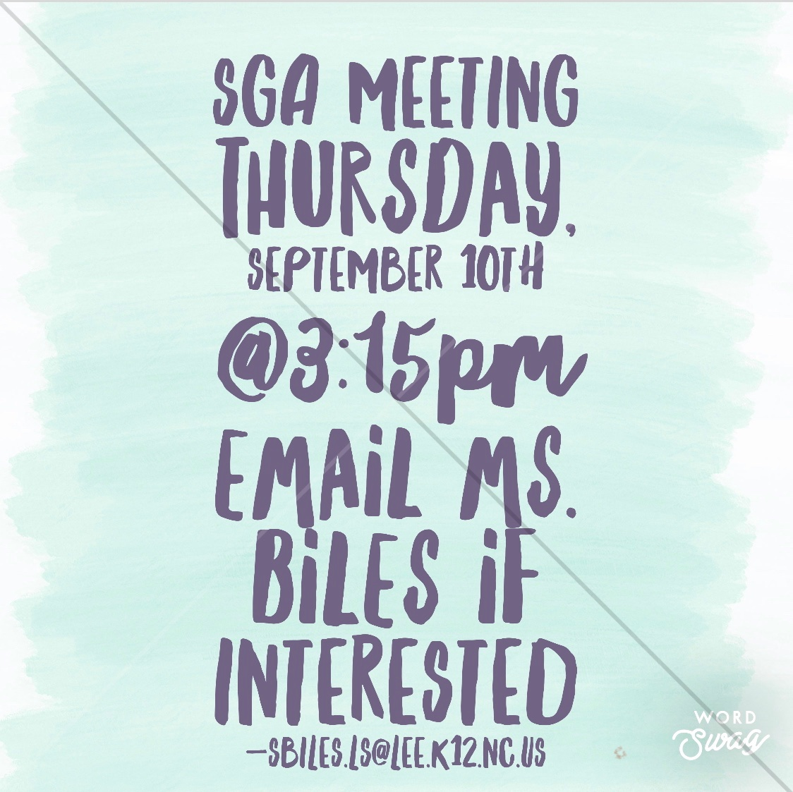 Virtual SGA meeting! Hope to see you there! https://t.co/Ozf3EHkUHX