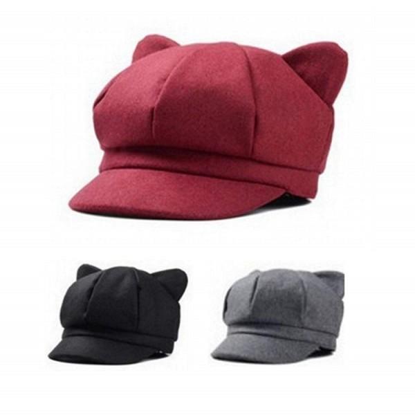 日本rakuten出現了戴上去後就會給人以為你有貓耳朵的帽子,售價為1,980日元 Eg8o7suU8AIdlqB