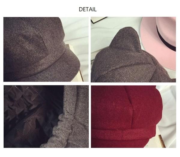日本rakuten出現了戴上去後就會給人以為你有貓耳朵的帽子,售價為1,980日元 Eg8o8KJU0AACQ05