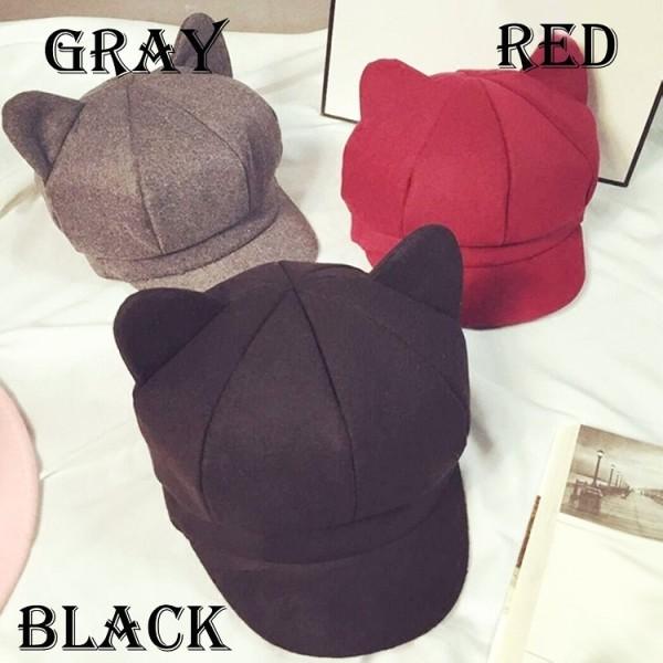 日本rakuten出現了戴上去後就會給人以為你有貓耳朵的帽子,售價為1,980日元 Eg8o8oJUMAIJHyI