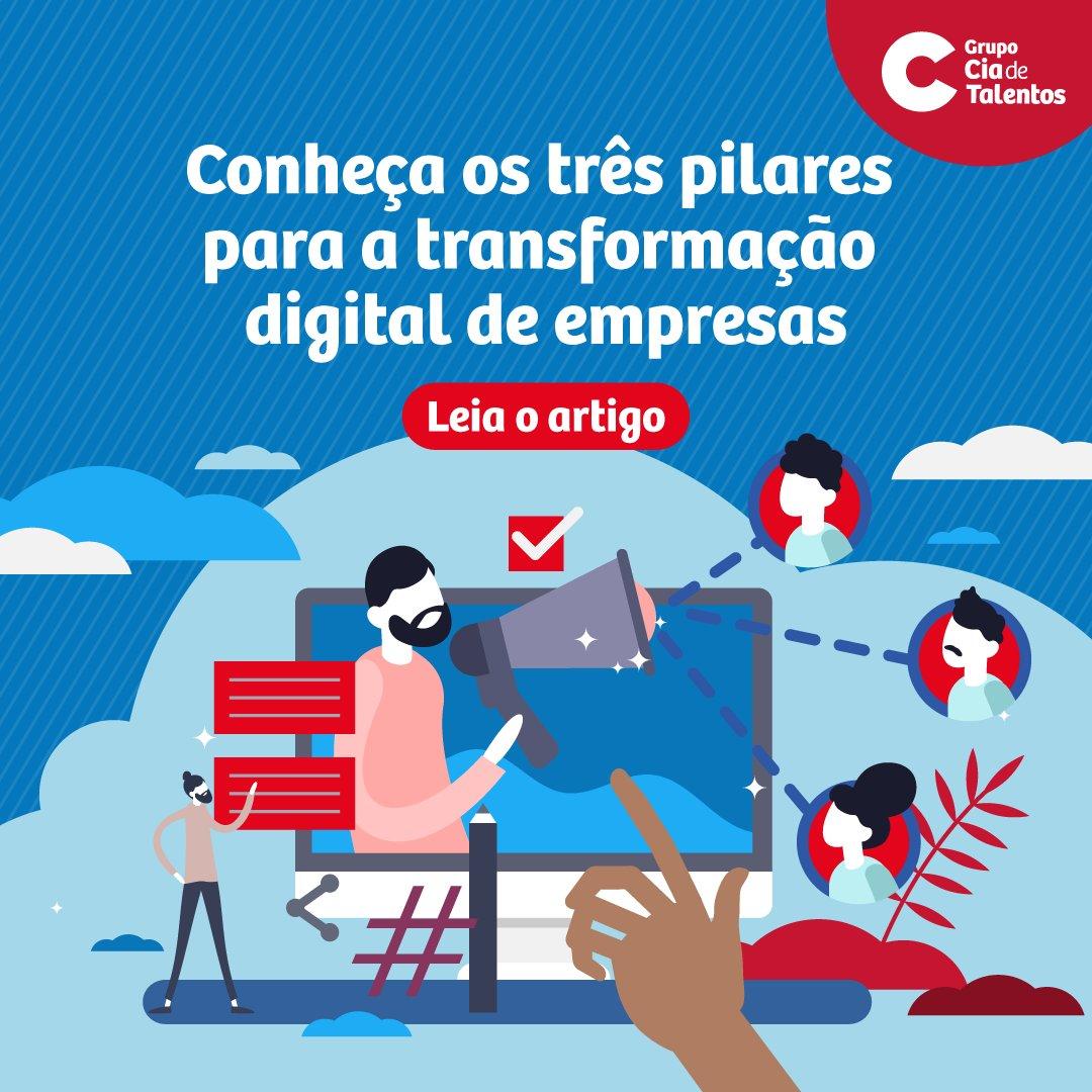 Há quem se engane ao achar que digital é só sobre tecnologia, mas a nossa fundadora Sofia Esteves aproveitou a pesquisa do Carreira dos Sonhos desse ano pra falar sobre 3 pilares para a transformação digital das empresas: https://t.co/LDv0lpUjRn  #transformacoedigitais https://t.co/Nxgm5Qf5M6