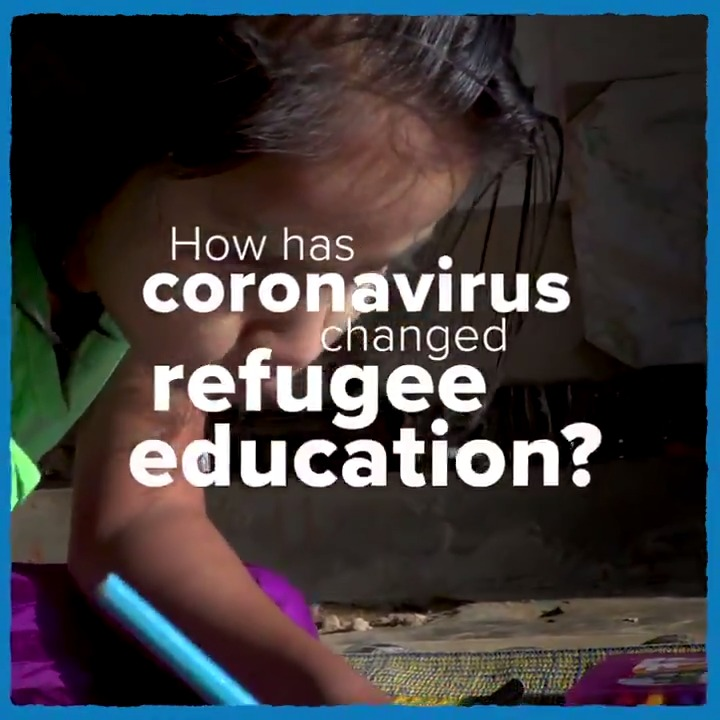COVID-19 has led to the greatest disruption of education in history, affecting 1.6 billion learners.  Including millions of young refugees.  ✅ We must act now to ensure they are not left behind.  #EducationDay
