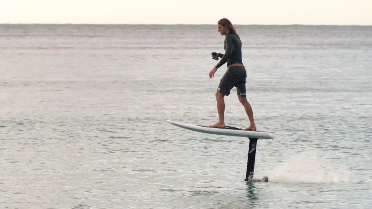 Have you seen this 'flying' surfboard?