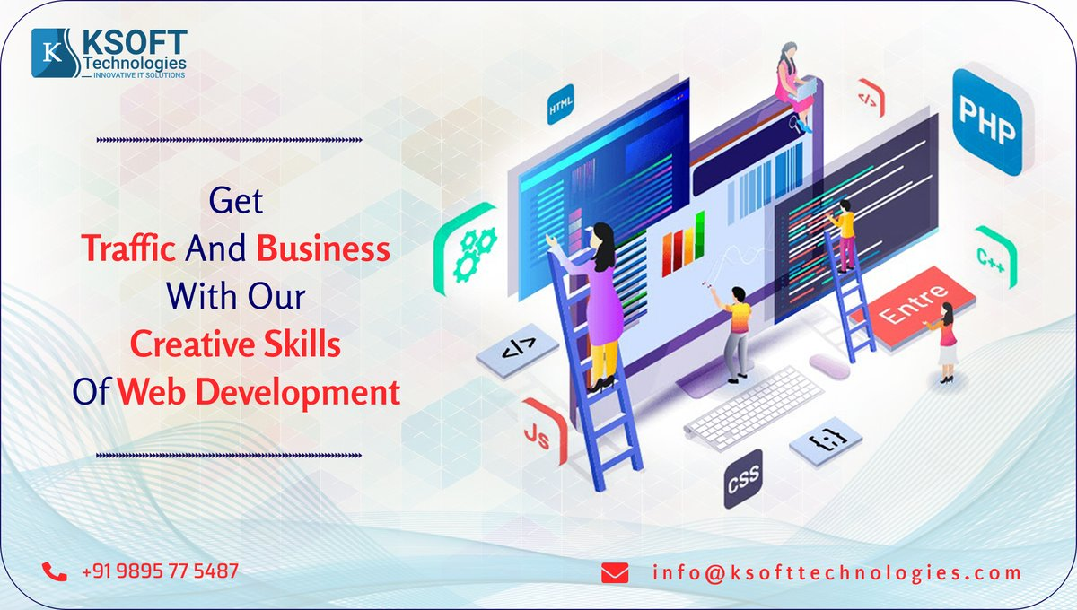 If you have a website that is professionally designed, it ensures your site with more visitors at a first impression this gives you more benefits than amateur websites which can be unprofessional and less credible. #websitedevelopment #webdesign #creativeskills #ksofttechnologies https://t.co/OjqDlLDHQe