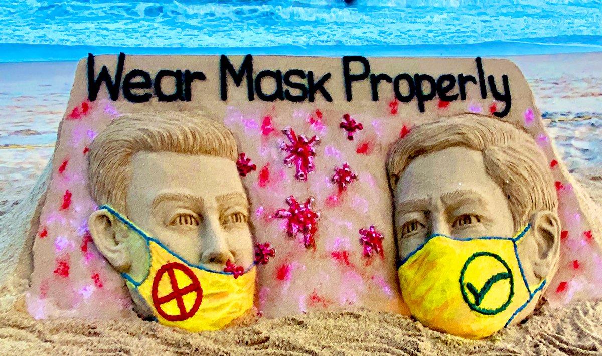 Please!....Please!...Please!....🙏 Wear your #Mask properly . #StaySafe #BeatCovid19