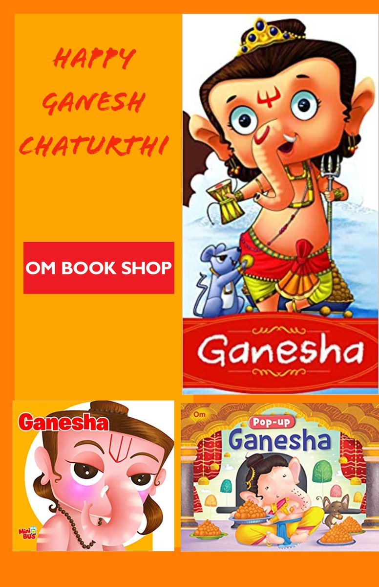 This #GaneshChaturthi2020  Find out about the life and miracles of Lord Ganesha, in this beautifully illustrated books and experience his divine power! Also known as 'Ganapati', who is one of the most widely worshipped in the Hindu tradition. Link- https://t.co/jo5MB85Tt3 https://t.co/bc8H22teUG