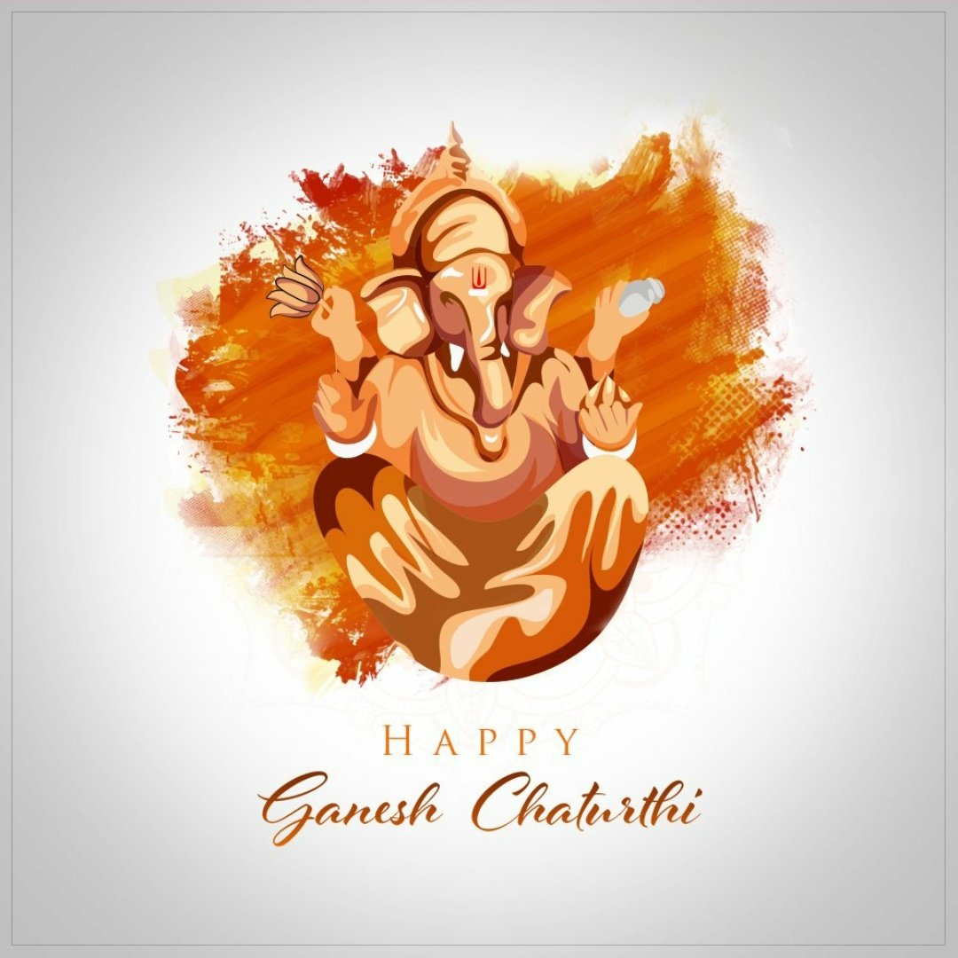 May the agman of of Lord Ganesha brings new hopes & happiness into everyone's life.   Bappa Moriya ❤️  #HappyGaneshChaturthi