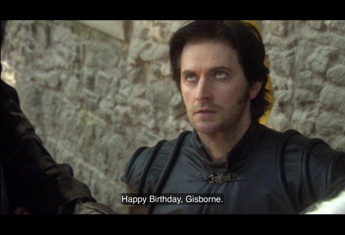 Happy Birthday to Richard Armitage.
