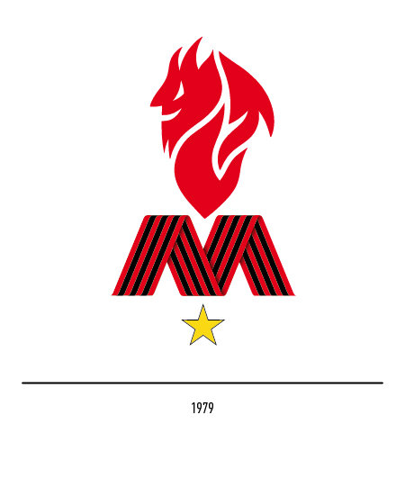 World Football Club Crests On Twitter Do You Remember When Ac Milan Were Represented By The Devil Himself We Do And We Loved It 5 34 Acmilan Milan Diavolo Seriea Serieatim Calcio Logodesign