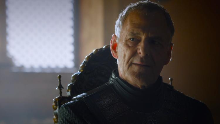 Game Of Thrones キャラ紹介bot ケヴァン ラニスター ランセルの父でサーセイ達の叔父にあたる人物 王の手となったり トメン政権下で小評議会の一員を務めるもサーセイに対し非協力的 サーセイの聖堂爆破に巻き込まれ死亡する ゲームオブスローンズ