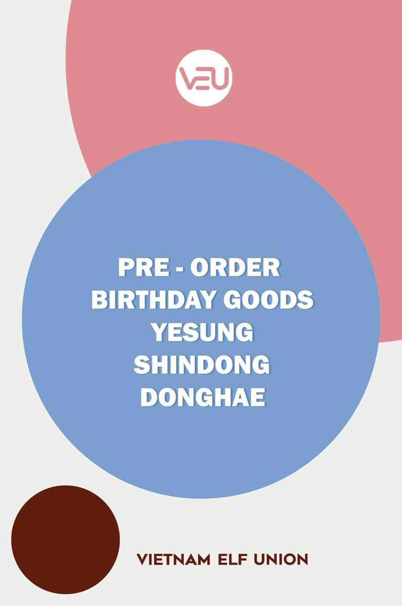 [BIRTHDAY GOODS PROJECT] YESUNG - SHINDONG - DONGHAE.  Each set includes:  ❤1 designed embroidery t-shirt for individual member. 🧡1 sticker set. 💙1 arylic keyring.   #SUPERJUNIOR #VietnamELF #VEU https://t.co/WSFjzGNMO4