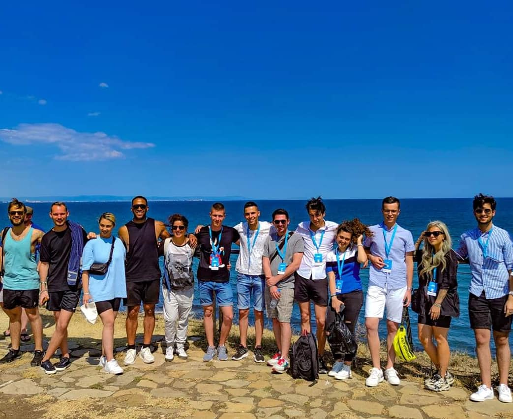 Our artists visited the stunning St. Anastasia Island near #Burgas. They enjoyed the beautiful view and tasty food on the island. The Black Sea #Eurovision in Primorsko and Burgas will continue until 26 August. #BSESC2020 https://t.co/c48VFpEvp7