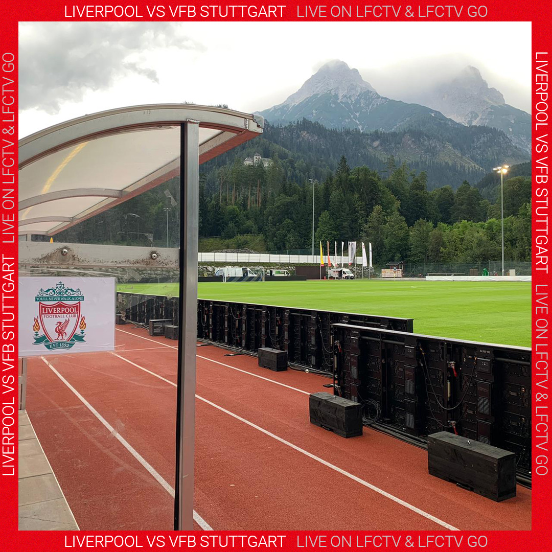 Liverpool Fc On Twitter A Nice Backdrop For Today S Game Lfcpreseason