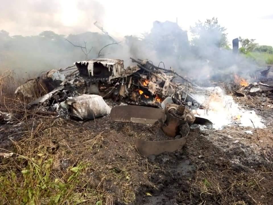 Plane Crash Juba South Sudan