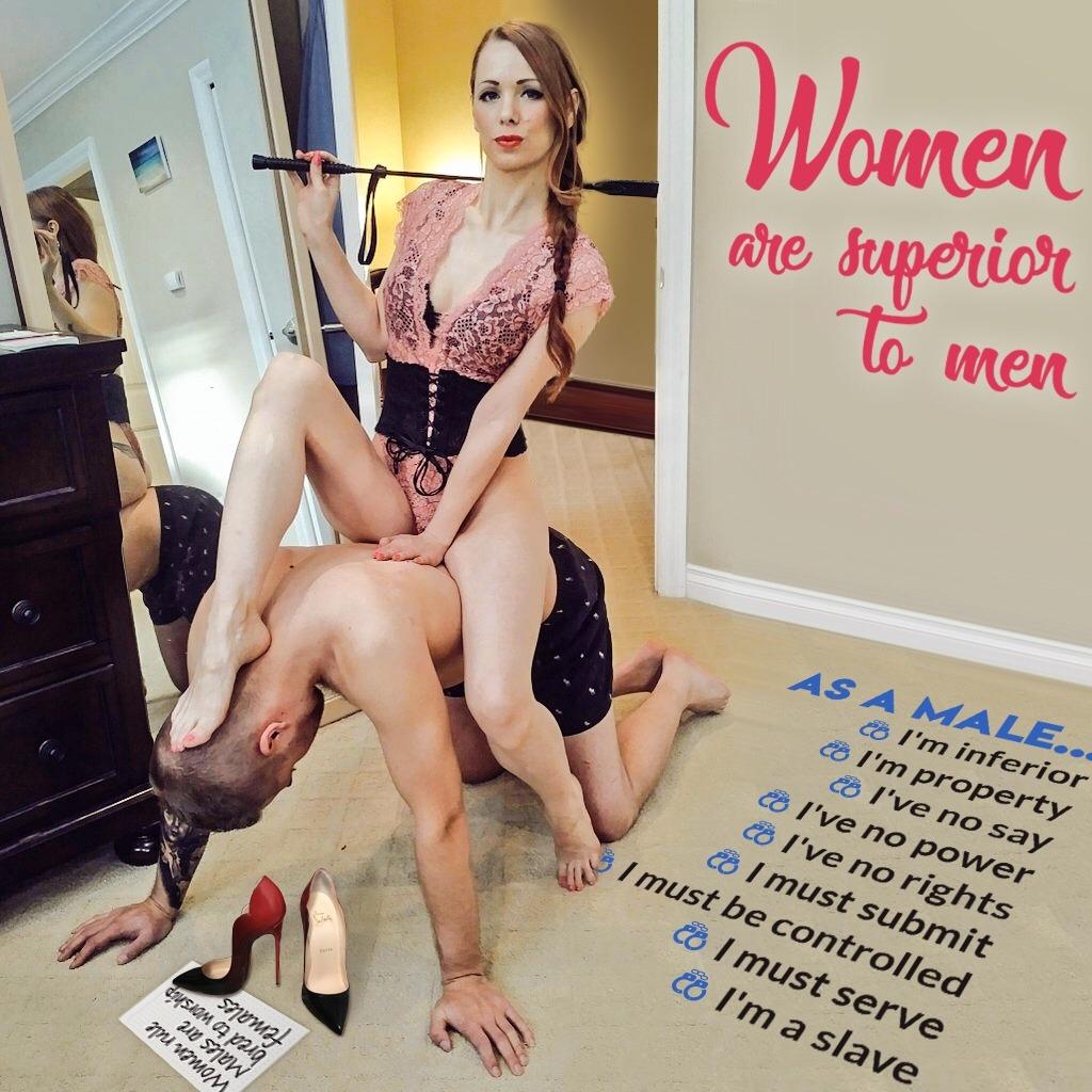 Femdom wife worship slave captions