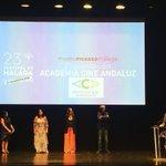 Estamos de enhorabuena. Larga vida a @acacineandaluz  #AcaCineAndaluz #AcademiaCineAndalucia
