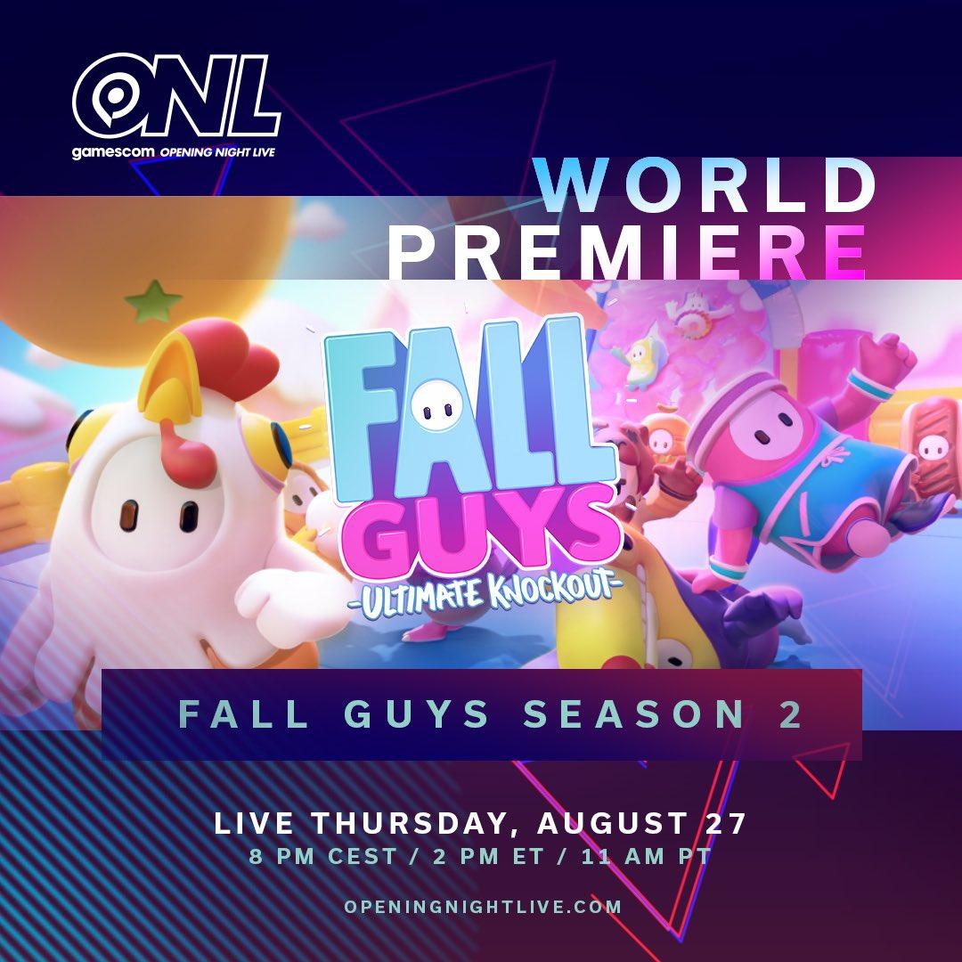 Fall Guys Season - Gamescom. OPENING NIGHT LIVE TRAERÁ ACTUALIZACIONES Y NOVEDADES PARA PS5