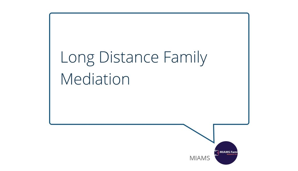 You can contact your partner and ask him/her about the time schedule and then during the mediation session you will be on the video conference and things will slowly get sorted.  Read the full article: Long Distance Family Mediation ▸ https://t.co/0TZO1BKphE https://t.co/XYx1XMeq9u