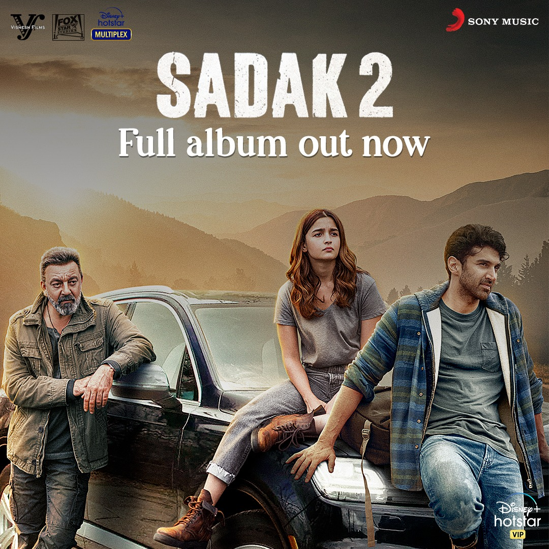 #Sadak2 Album Out Now