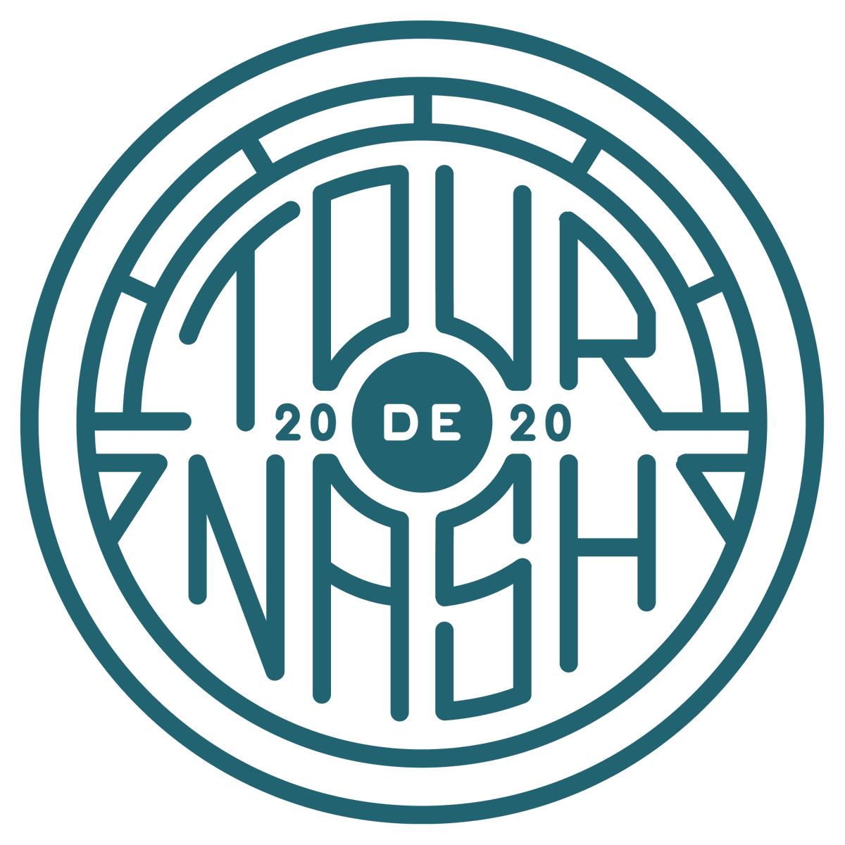 Today's #TourdeNash will look very different this year. Multiple starts spread out across Nashville. No groups. No mass start, or finish festival/post ride meal etc. Masks a must to have.