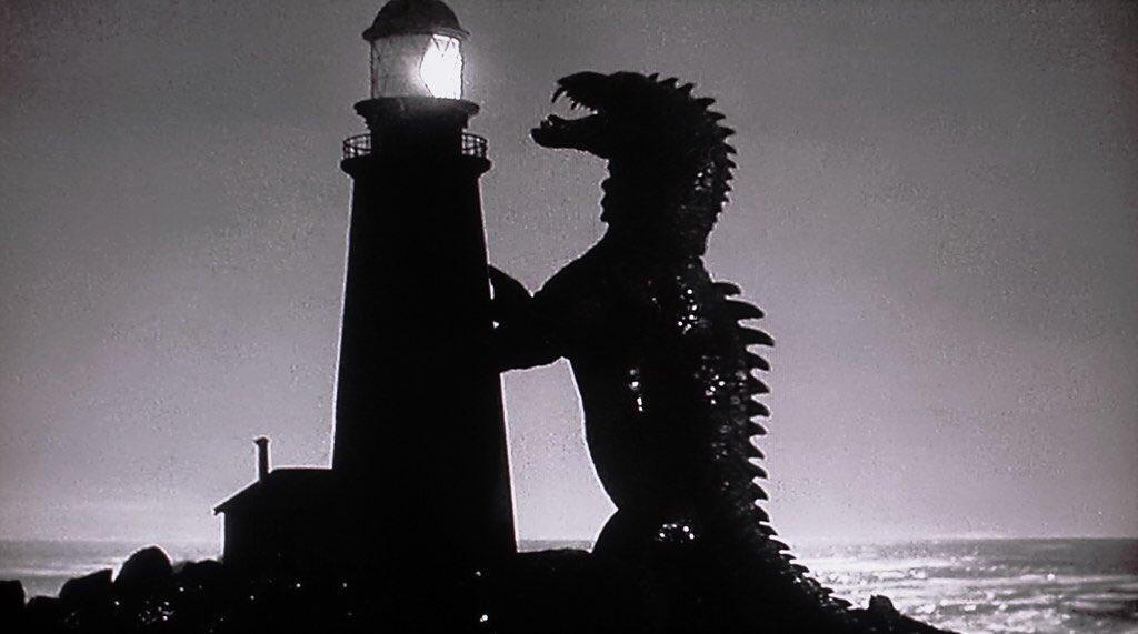 """Daniel Olave Miranda on Twitter: """"@Ray_Harryhausen en su primer film en  solitario, fue el responsable de los efectos de la película El monstruo de  tiempos remotos, de Eugène Lourié, basada en el"""