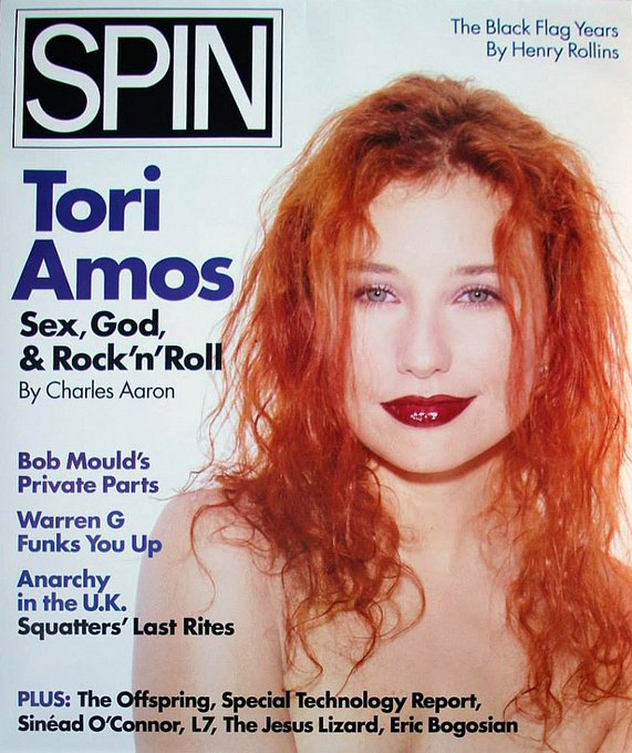 And a very happy birthday to Tori Amos, 57 today!   No she doesn\t want any cornflakes...