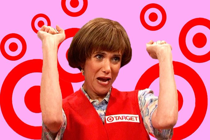 Happy birthday, Kristen Wiig! I will always love Target Lady CLASSIC PEG TO THE MAX