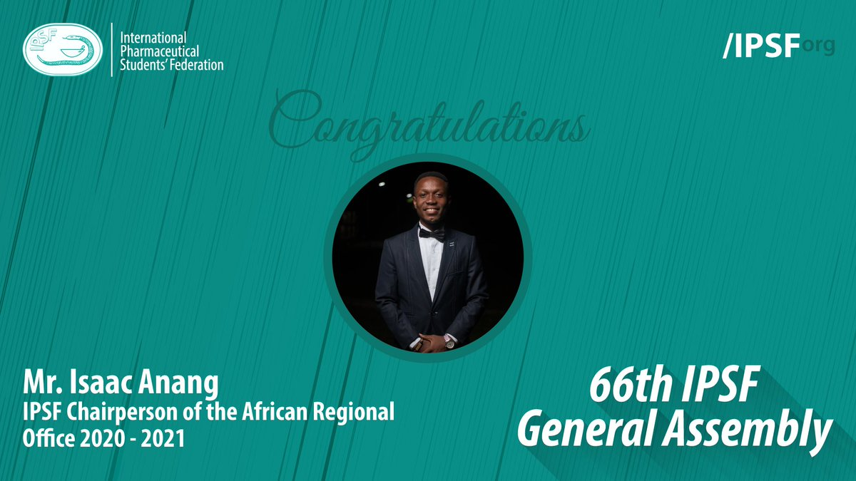 Congratulations to the IPSF Chairpersons of the Regional Offices 2020 - 2021 for being appointed during the General Assembly #IPSForg #66thGeneralAssembly https://t.co/S6DWAJ6aGP