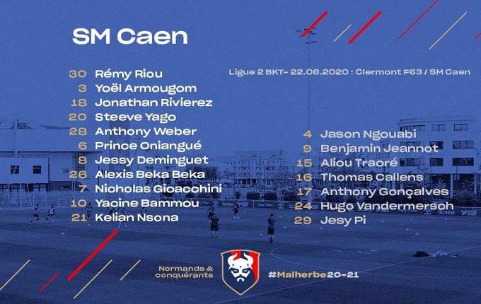 [1ère journée de L2] Clermont Foot 0-0 SM Caen EgCW5a9WoAYRlcD?format=jpg&name=small