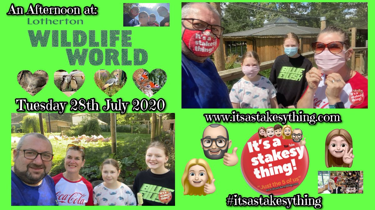 Tonight's video is now over on YouTube https://t.co/qchmoJsgUS join us for a look around Lotherton Wildlife World 🤗🦋🦉🦩🦜 #itsastakesything #youtube #daysout #lothertonhall https://t.co/9zjvR2QLqr