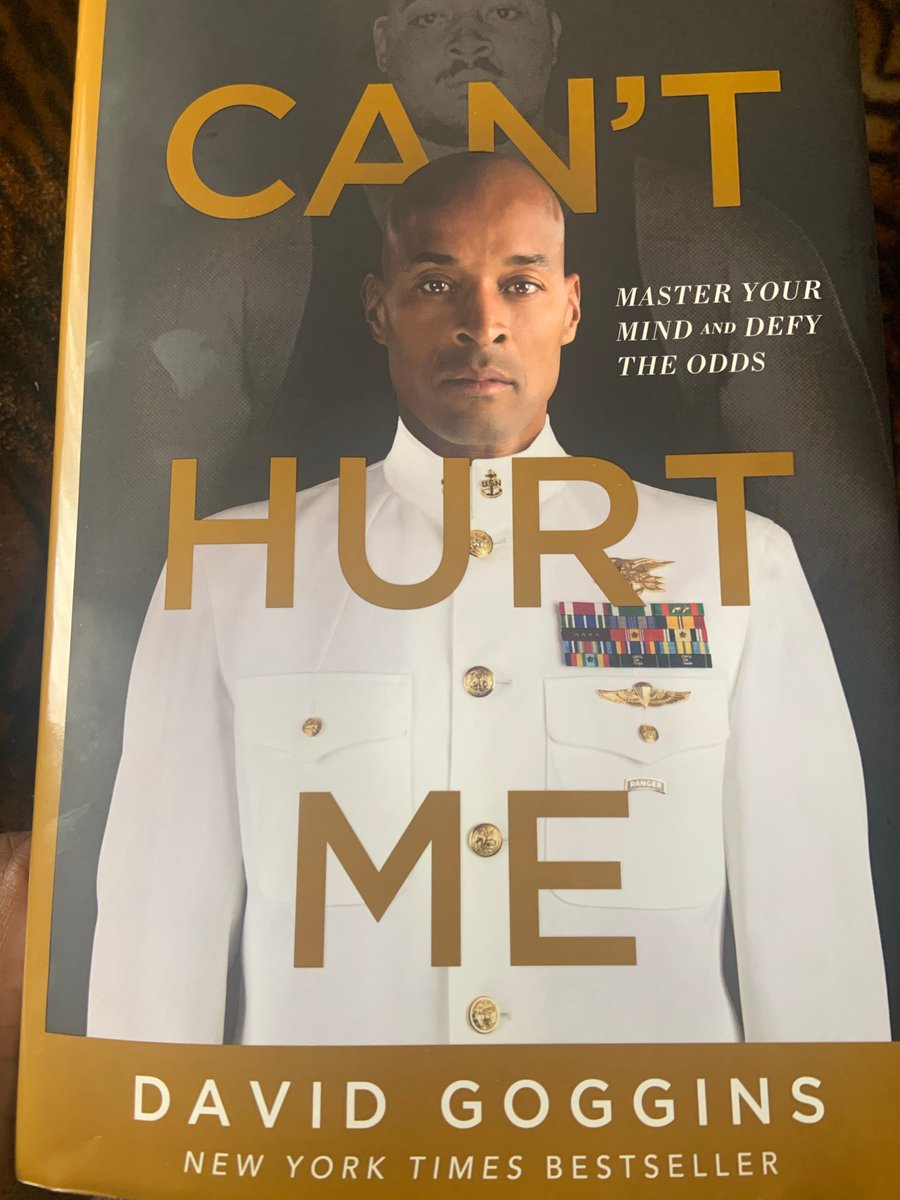 Want to be inspired? READ THIS BOOK‼️ #DavidGoggins #Inspiration #Superman #BeastMode @davidgoggins   #MentorFromAFar #LifeChanging https://t.co/ncK3ieFOAT