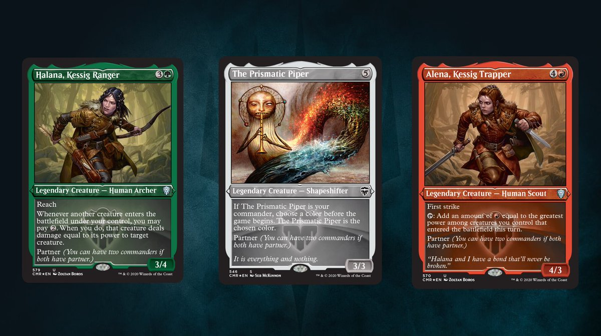 "ChannelFireball on Twitter: ""Special treatment for Legendary creatures in  Commander Legends!… """