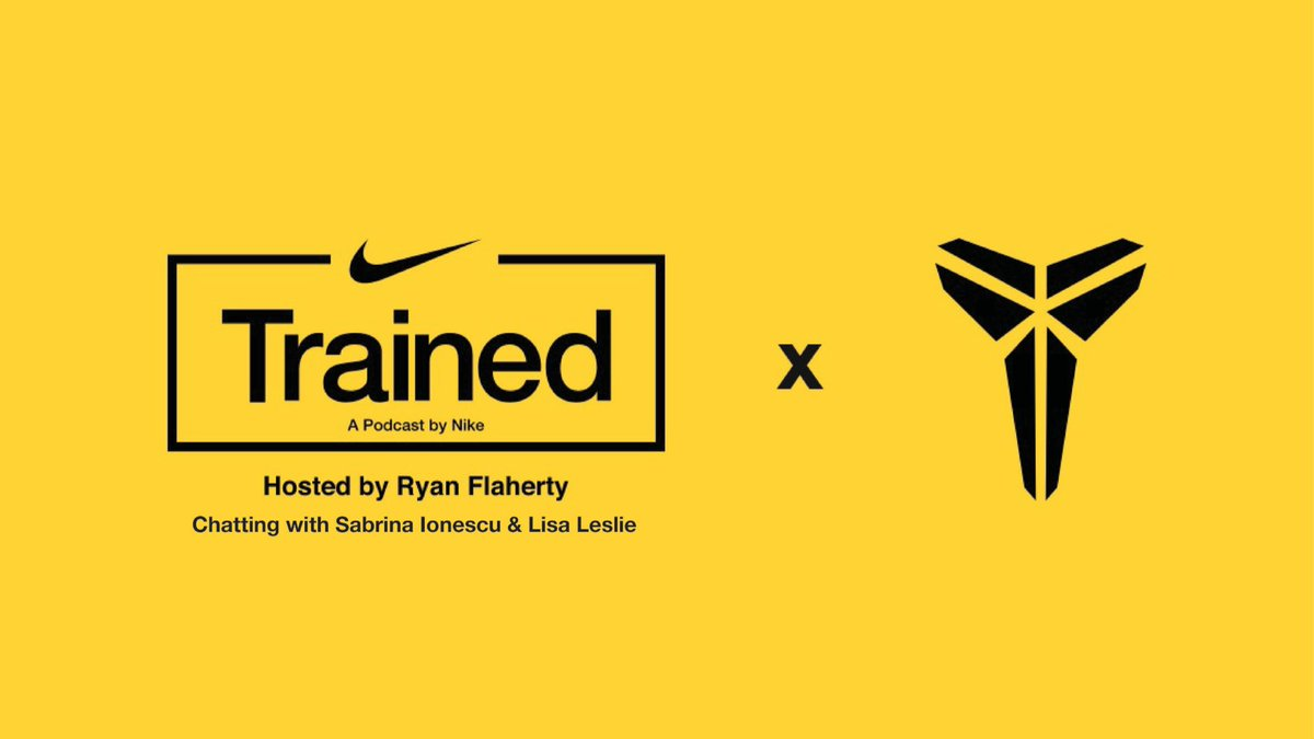 In a special, live-streamed podcast, Nike senior director of performance RyanFlahertytalks with WNBA #1 pick @sabrina_i20 and WNBA legend @LisaLeslie about how they put the Mamba Mentality to work — and how you can too.  #MambaMentality Tune in: https://t.co/c8SLgcX5Am https://t.co/HCXnBgK9Ds