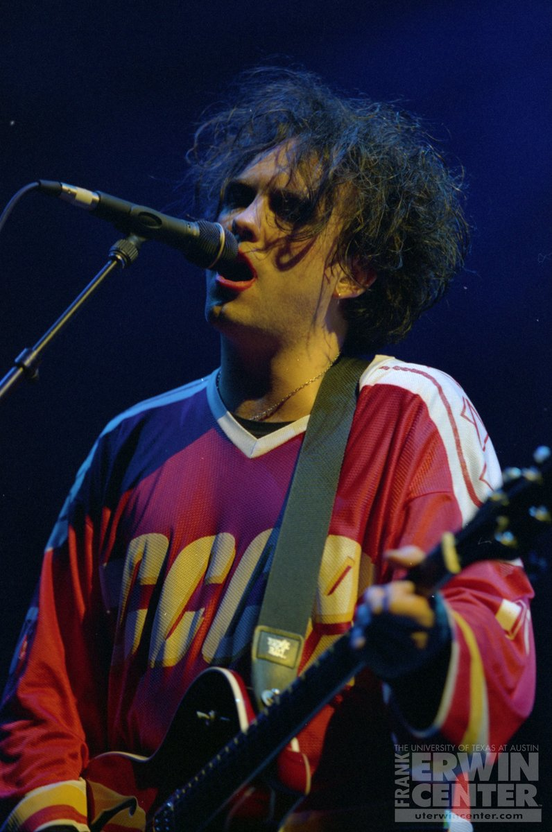 ON THIS DAY: It was 'Just Like Heaven' when @thecure performed live at the @ErwinCenter in 1996! 🎸🎤