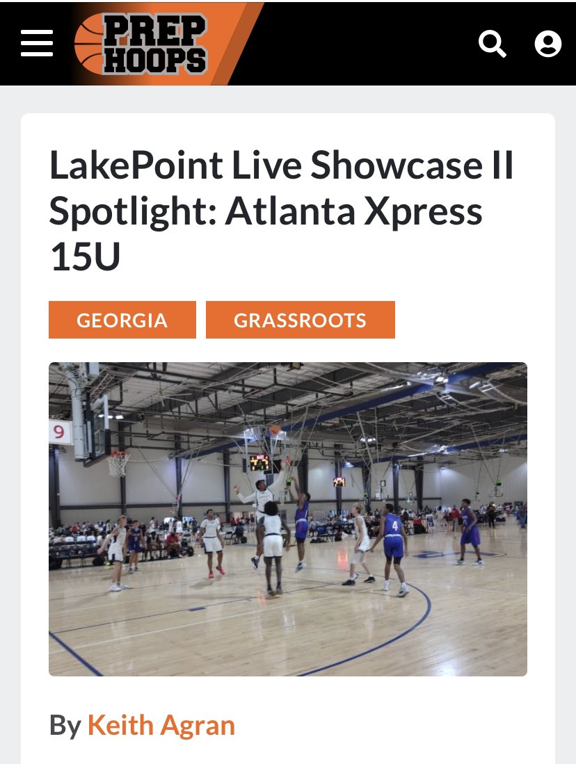 """Keep pushing fellas and continue to """"Trust The Process"""".  Shout out and Thanks to Keith Agran @PrepHoopsGA @PrepHoops @PHCircuit https://t.co/nx4xtcXu4E"""