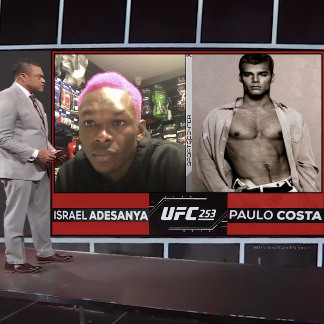 That's exactly what we saw when watching that interview. #ufc253 #thenewssweetscience https://t.co/ggHIcRbcZ9