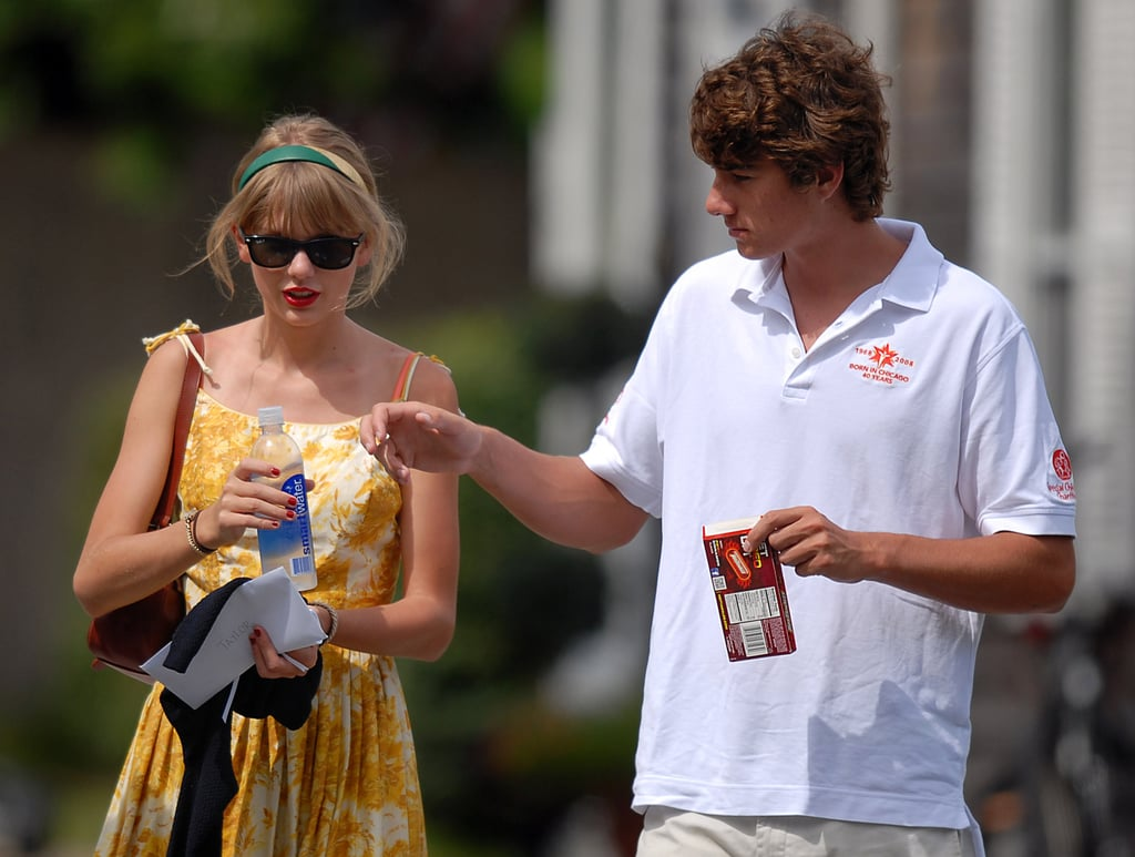 """Taylor Swift History 🌈 on Twitter: """"August 22, 2012 8 years ago today Yet  another day with Conor Kennedy at the Kennedy Compound… """""""