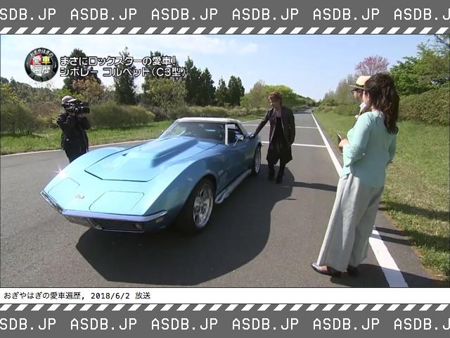 ソフィア松岡充のスポーツカー「シボレーコルベット」のテレビ番組紹介