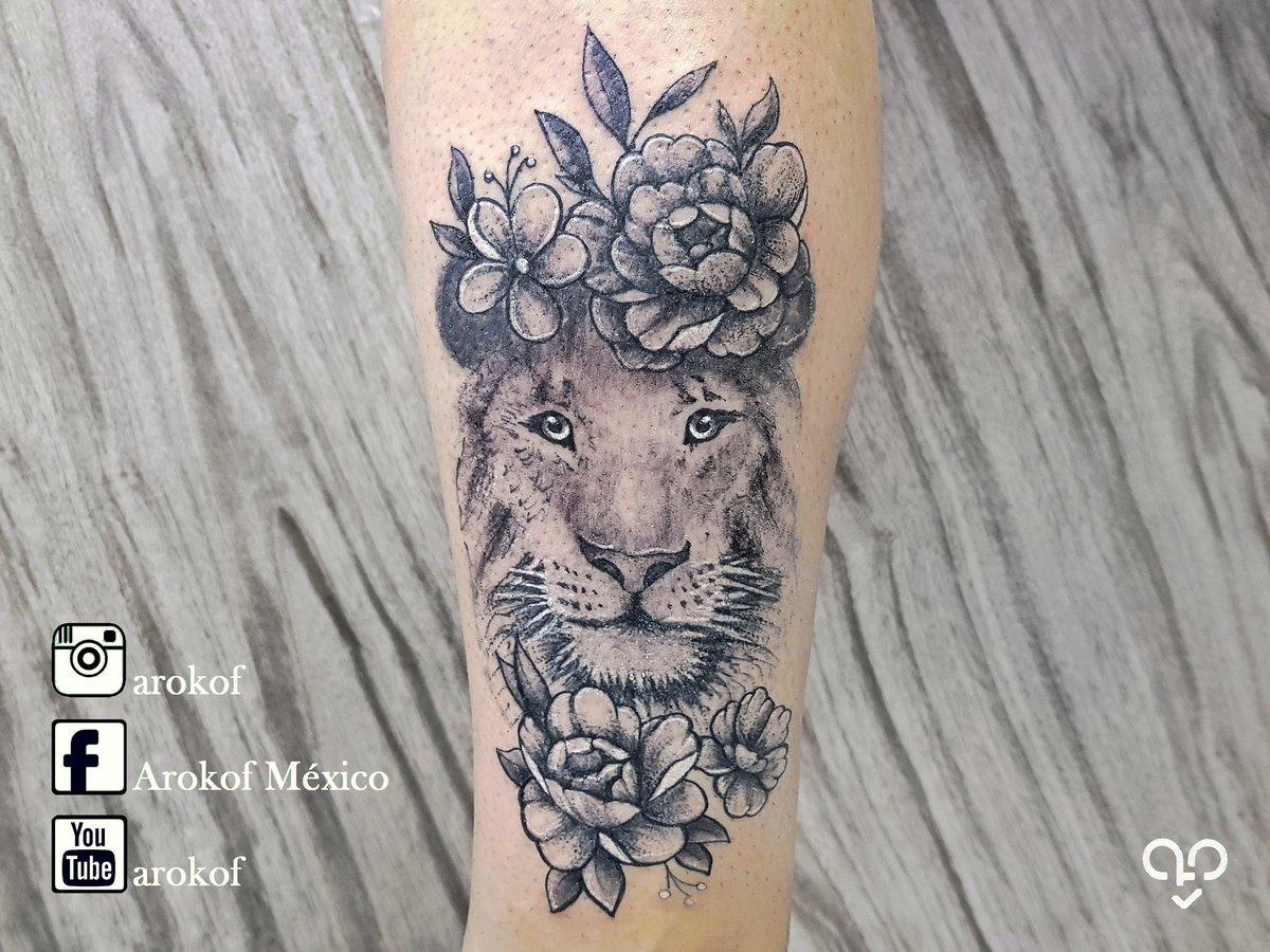 Arokof On Twitter Leona Flores Tattoo Tat Tatuajes Tattoos Lion Lions Liontattoo Art Artist New Flowers Flower Rose Roses Blackandgreytattoo Blackandgrey Following Follow Followers Followme Mexico Madeinmexico