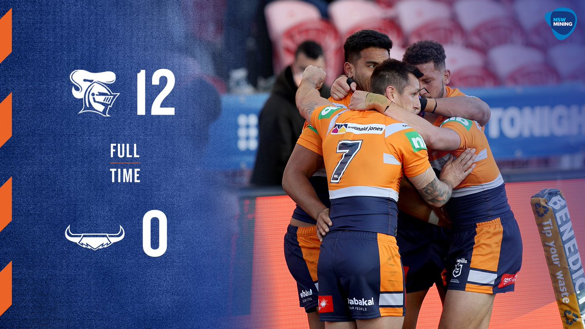 What a match! Congrats to the @NRLKnights on their gutsy 12-0 win over the Cowboys. Hard work in hi-vis!  We've got ten hi-vis training shirts to give away, and one signed match day jersey - so enter now at https://t.co/ey42xaQKSf for your chance to win!  #gohardgoknights #nrl https://t.co/FlonpuxjrS